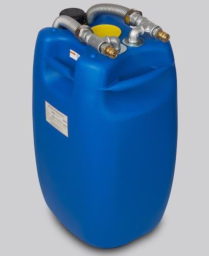 Vorderansicht des Druckluftkühlers K1